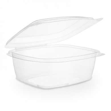 Bio Compostable Hinged Lid Deli Container - 24oz/680ml (Pack