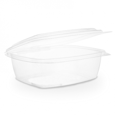Bio Compostable Hinged Lid Deli Container - 32oz (Pack of 50