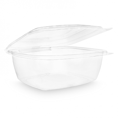 Bio Compostable Hinged Lid Deli Container - 48oz (Pack of 50