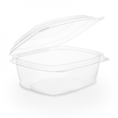 Bio Compostable Hinged Lid Deli Container - 8oz/220ml (Pack
