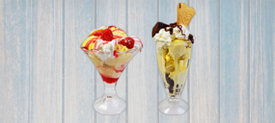 Ice Cream Bowls and Serviceware