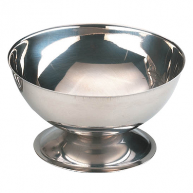 Ice Cream Sundae Cup - Stainless Steel (100mm Diameter)