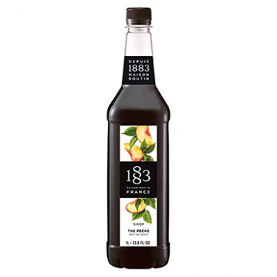Routin 1883 Syrup - Iced Tea Peach (1 Litre) - Plastic Bottl