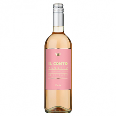 Il Conto Vecchio - Blush Pinot Grigio (750ml) - 12% ABV