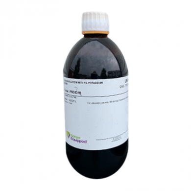 Iodine Solution (1% Potassium Iodide) - 500ml