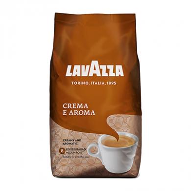 Lavazza Crema E Aroma - Coffee BEANS (1kg) - Brown Bag