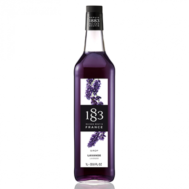 Routin 1883 Syrup - Lavender (1 Litre) - Glass Bottle
