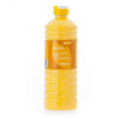 Lemon Juice from Concentrate (500ml) - Brakes
