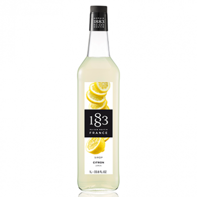 Routin 1883 Syrup - Lemon (1 Litre) - Glass Bottle