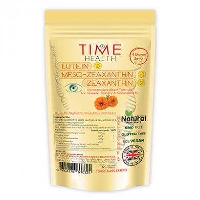 Lutein 10mg / Meso-Zeaxanthin 10mg / Zeaxanthin 2mg (120 Cap