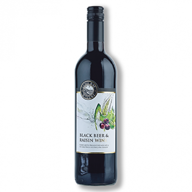 Lyme Bay Devon Wine - Blackbeer & Raisin Wine (75cl) 14.5% A