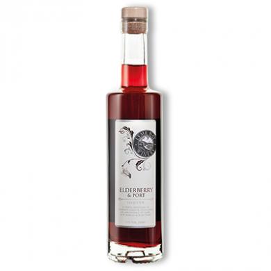 Lyme Bay - Elderberry & Port Liqueur (35cl) 17% ABV