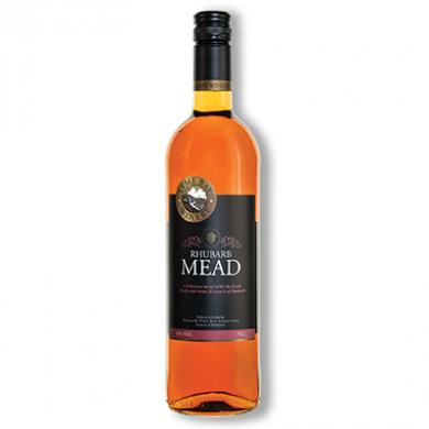 Lyme Bay Devon Mead - Rhubarb Mead (750ml) 11% ABV