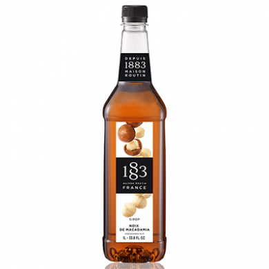 Routin 1883 Syrup - Macadamia Nut (1 Litre) - Plastic Bottle
