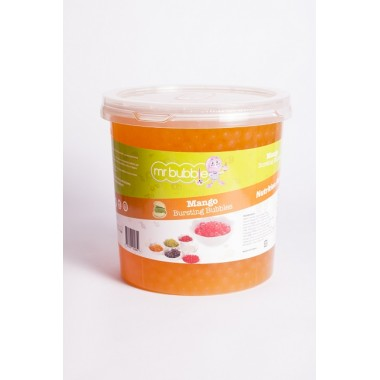 Mr Bubble Tea - Mango Bursting Bubbles (3.2kg)