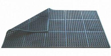 Rubber Bevelled Edged Floor Mat (150cm x 90cm x 1.2cm)