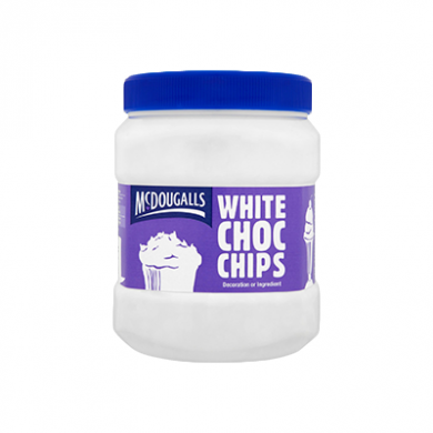 McDougalls White Chocolate Chips (1.1kg)