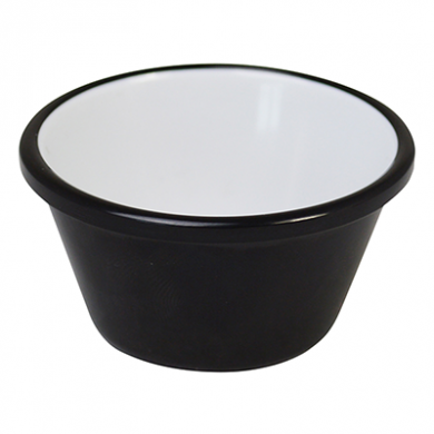 Melamine Ramekin - Black & White (59ml/2fl.oz) - Pack of 12