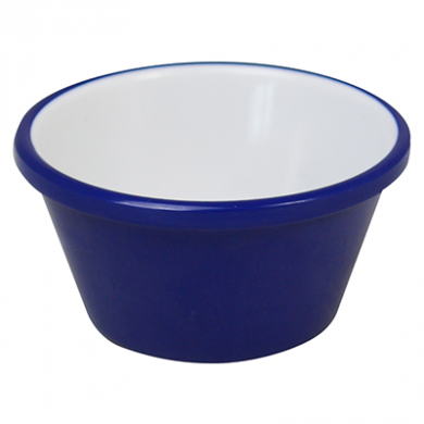 Melamine Ramekin - Blue & White (59ml/2fl.oz) - Pack of 12