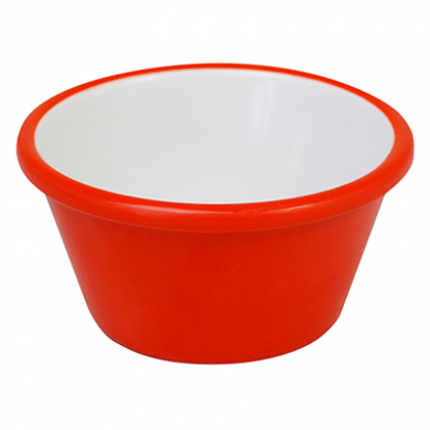 Melamine Ramekin - Red & White (59ml/2fl.oz) - Pack of 12