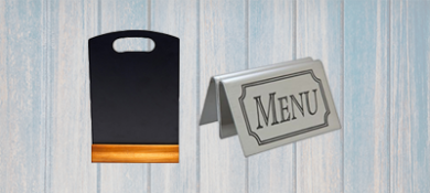 Serviceware - Menu Boards & Holders