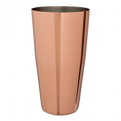 Mezclar - Copper Plated Boston Tin Lid (28oz) - Standard Nec