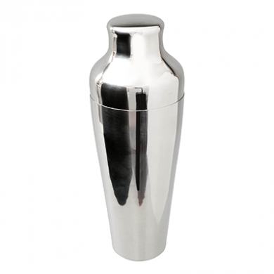 Mezclar - Polished Stainless Steel 2 Piece Cocktail Shaker (