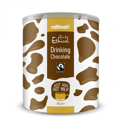 Milfresh Fair and Ethical Drinking Chocolate (2kg) - NEW OFF