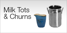 Serviceware - Milk Tots & Churns