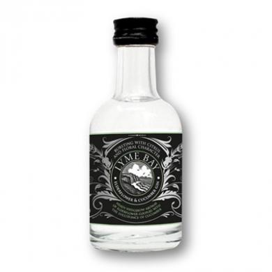 Lyme Bay Devon Gin - Elderflower & Cucumber Gin (50ml) 40% A