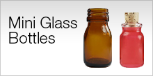 Serviceware - Mini Glass Bottles