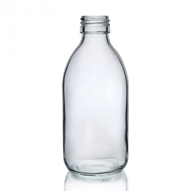 Mini Glass Bottle (200ml) - Clear Glass
