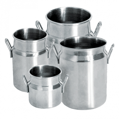 Mini Milk Churn - Stainless Steel (620ml)