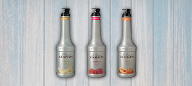 Monin Fruit Purees from Cream Supplies