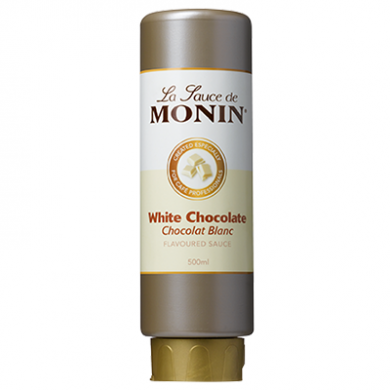 Monin Sauce - White Chocolate (500ml)