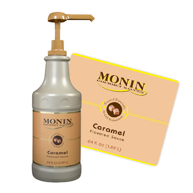 Monin Sauce 1 89l Caramel Pump Not Included
