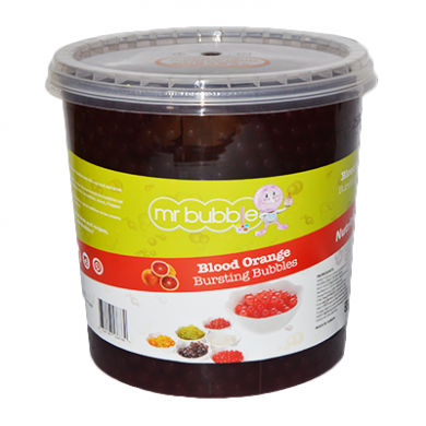 Mr Bubble - Blood Orange Bursting Bubbles (3.2kg) BBD 12/2/2