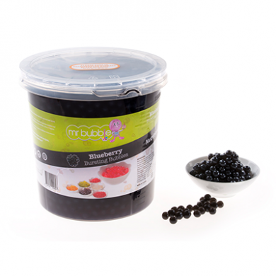 Mr Bubble Tea - Blueberry Bursting Bubbles (3.2kg)