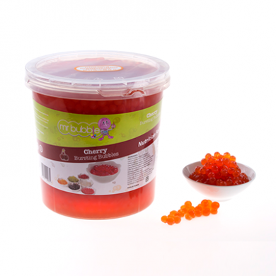 Mr Bubble Tea - Cherry Bursting Bubbles (3.2kg)