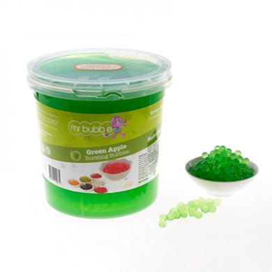 Mr Bubble Tea - Green Apple Bursting Bubbles (3.2kg)