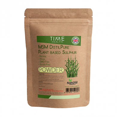 MSM DistilPure Plant Based Sulphur POWDER - 250g