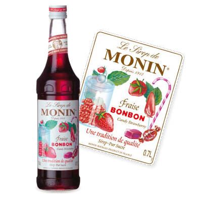Monin Syrup - Strawberry Bonbon (70cl)