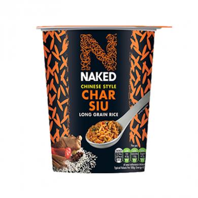 Naked - Chinese Style Char Siu - Long Grain Rice (78g)