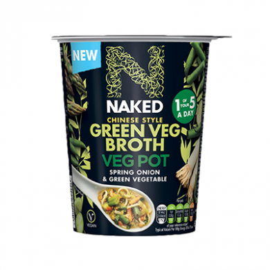Naked - Chinese Style Green Veg Broth (60g)