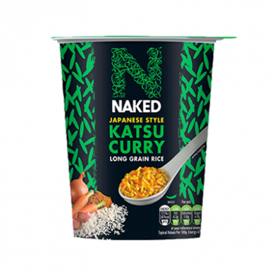 Naked - Japanese Style Katsu Curry - Long Grain Rice (78g)