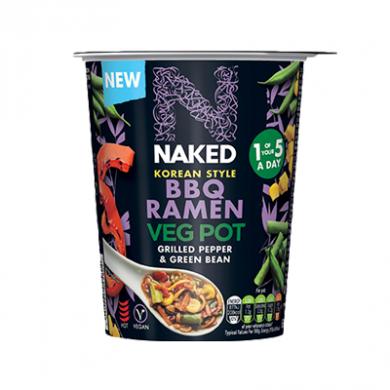 Naked - Korean Style BBQ Ramen Veg Pot (60g)