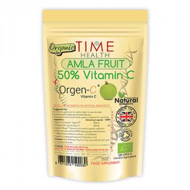 Organic Amla Fruit - 50% Vitamin C (60 Capsules)