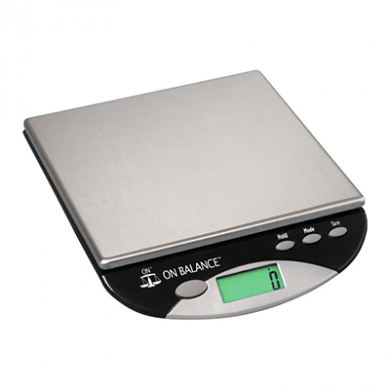 On Balance - Compact Bench Scale (8000g x 1g) - Inc Batterie
