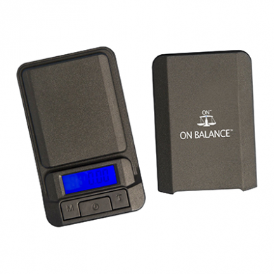 On Balance LS-600 Digital Pocket Scale (600g x 0.1g) Inc Bat