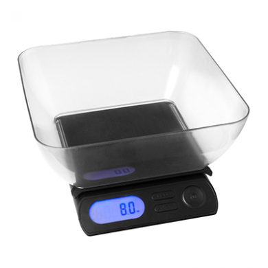 On Balance MEGA with Bowl (8kg x 1g) Inc Batteries and AC Ad